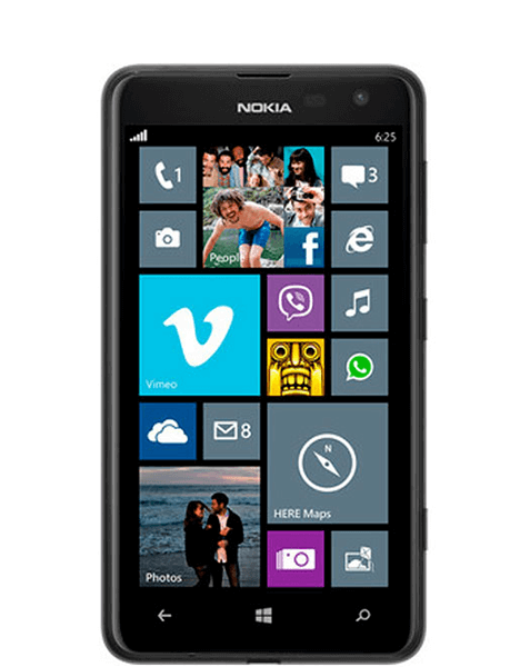 Nokia Lumia 625 Screen Replacement