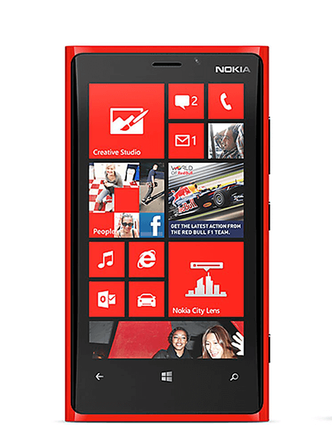 Nokia Lumia 920 Screen Replacement